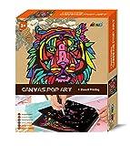 Avenir 01343 Canvas Pop Art Malset
