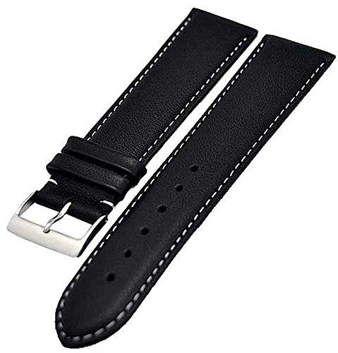 uhrenarmband-xl-extra-lang-schwarz-fein-gepolstert-20mm-4166