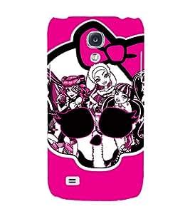 EPICCASE evil girls case Mobile Back Case Cover For Samsung Galaxy S4 (Designer Case)