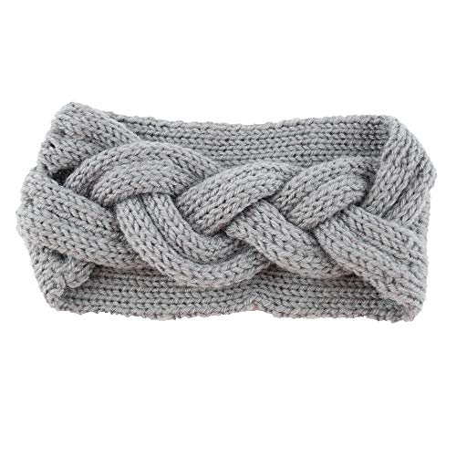 Mitlfuny Beauty Makeup,Frauen gestricktes Stirnband häkeln Winterwärmer Dame Haarband Hair Band ()