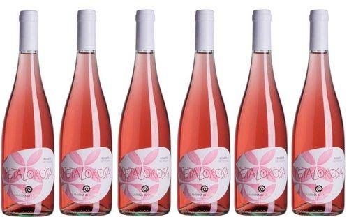 Rosato frizzante petalo rosa 6 x 0.75l