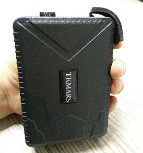5160RyGOmjL - GPS Tracker Hangang, Rastreador GPS Standby 120 Días, Localizador GPS a Prueba De Agua, Dispositivo De Rastreo En Tiempo Real, Vehículo GPS Para Autocar Camión GPS Sin Instalación (Tk915)