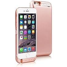 "Mondpalast@ Oro rosa Externos 5800 mah batería Funda Cargador Para Apple iphone 6 6S IPHONE 6 iPhone 6s 4.7"""