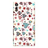 CrazyInk Premium 3D Back Cover for Sony Xperia XZ Dual – Valentine Heart