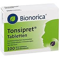 Tonsipret Tabletten, 100 St. preisvergleich bei billige-tabletten.eu
