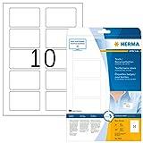 Herma 4514 Namensetiketten ablösbar 200 Stück auf 20 Blatt DIN