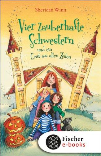 Vier zauberhafte Schwestern und ein Geist aus alten (Halloween Sprite)