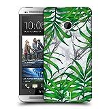 Head Case Designs Palmen Blaetter Tropische Marmor Drucke Ruckseite Hülle für HTC One M7