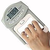 Camry - Digitaler Hand-Kraftmesser / Dynamometer, zum Trainieren der Hände, 90 kg / 200 lb