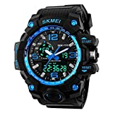 #6: SKMEI Brand LED And Pointer Display 50M Multifunctional Waterproof Calendar Stopwatch Sports Watch