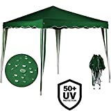 "3x3 Pop Up Gazebo ""Capri"" Canopy Shelter Party Tent Marquee Wedding Outdoor 