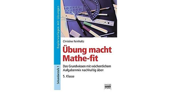 Übung macht Mathe-fit: 5. Klasse - Kopiervorlagen mit Lösungen ...