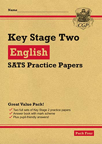 New KS2 English SATS Practice Papers: Pack 4 (for the 2020 tests)