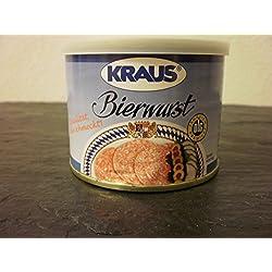 Bierwurst vom Metzger keine Industrieware Konserven 200 gr.