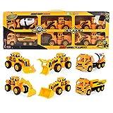 Amyove Excavadora para niños Juguete para automóvil Juego de...