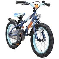 BIKESTAR Bicicleta infantil para niños y niñas bicicleta de montaña | Bici 16 pulgadas | Color