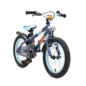 5160XSLzK9L. SS300 BIKESTAR Bicicletta Bambini 4-5 Anni da 16 Pollici Bici per Bambino et Bambina Mountainbike con Freno a retropedale et…