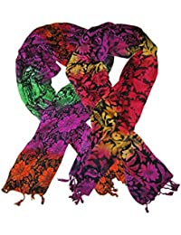Goodluck Cotton Scarf Set Of Two Mullticoloured Stoles; Scarf And Stoles For Women … - B06X3V4YNQ