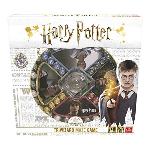 Pressman Harry Potter Los Tres Magos. Juego De Mesa, Multicolor (Goliath Games 108672)