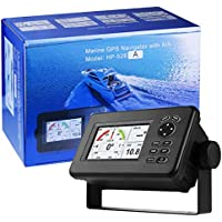 Matsutec HP-528a 4.3 Inch Color LCD Clase B AIS Transpondedor Combo Alta Marine GPS Navigator Marina de Navegación