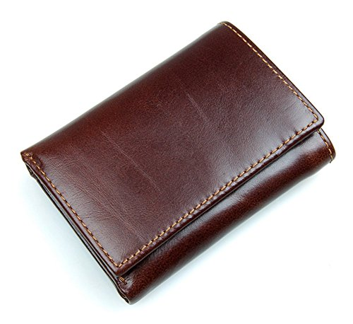 yaagle-vintage-genuine-leather-anti-scan-multi-function-coin-pocket-purse-wallet-with-card-holder