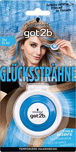 e Sky Blau, 2er Pack (2 x 4 g) (Temporäre Blaue Haare)