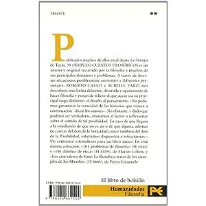 39 (simples) cuentos filosóficos (El Libro De Bolsillo - Filosofía)