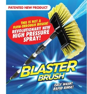 Preisvergleich Produktbild Blaster Pinsel Easy Car Wash Valeting Bürste 2 in 1 mit Jet-Spray