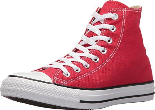 M9621 Converse Chuck (Converse Unisex-Erwachsene All Star Hi High-top, kirschrot, 42 EU)