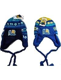 MINIONS cappello cuffia con copriorecchie Bambino taglia unica da 2-6 anni 461847f64204