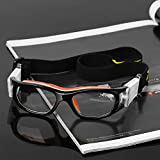 Pellor Sportbrille, Erwachsene Kinder Brille Running Brille Arbeitsschutz verstellbar für Sonnenbrille Fußball Fotografie von Basketball Tennis (Kinder Sportbrille) Vergleich