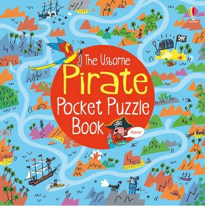 [(Pirate Pocket Puzzle Book)] [ By (author) Alex Frith, Illustrated by Peter Allen ] [January, 2014]