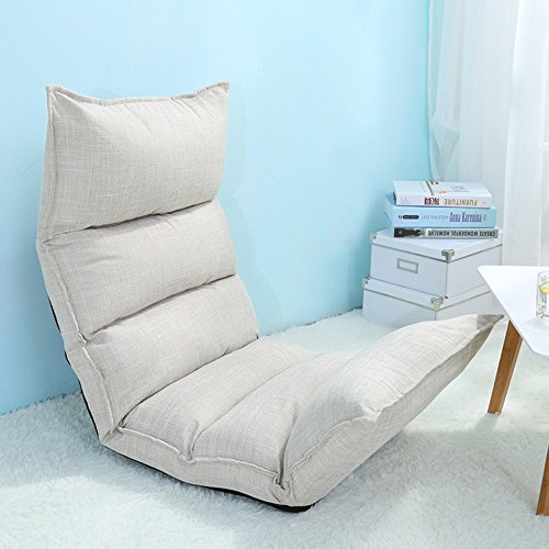 Sessel ZHANGRONG Lazy Sofa Collapsible Tuch-Kunst-einzelner...
