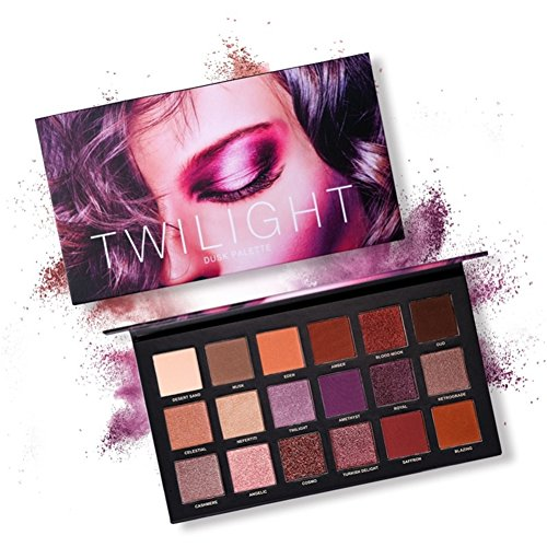 OYOTRIC Desert Dusk Matte Lidschatten-Palette Make-up - Matte + Schimmer 18 Farben -Waterproof Nudes...