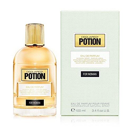 DSQUARED6 POTION WOMAN  eau de parfum mit Zerstäuber 100 ml