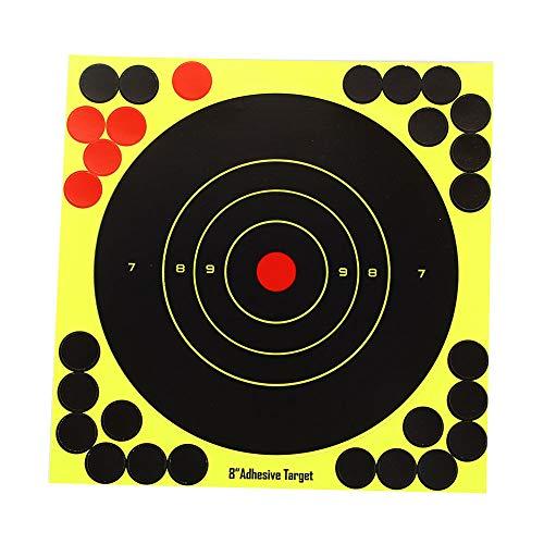 Shooting Splatter Ziele 15 Zoll Selbstklebende Papier reaktive Ziel Aufkleber für Pistole Gewehr Pistole Bb Gun Airsoft Pellet Gun Luftgewehr