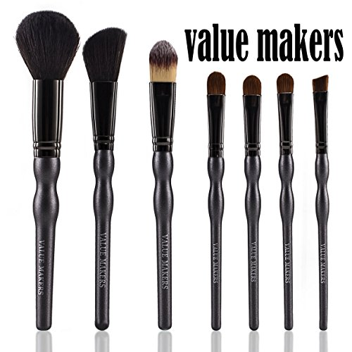VALUE MAKERS 7 lot pinceau de maquillage avec étui