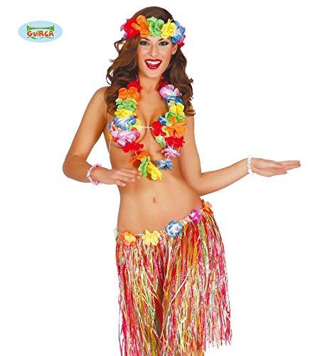 Guirca Fiestas GUI18509 - mehrfarbiges Hawai-Set, 55 cm