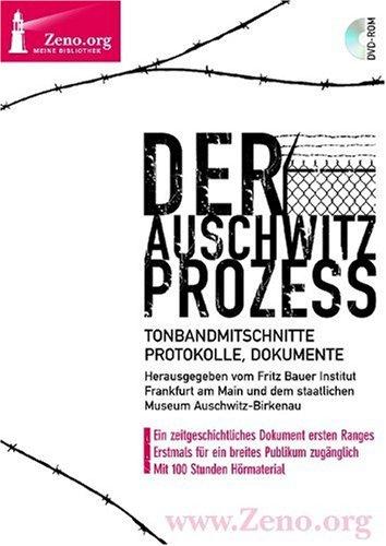 Preisvergleich Produktbild Zeno.org 007 Der Auschwitz-Prozess (DVD-ROM)