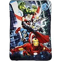 Marvel Avengers Fleece Decke Kuscheldecke 100x140cm