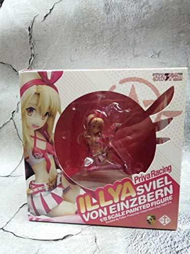 Yvonnezhang Anime Schicksal / Kaleid Liner Illya Priya Racing Chloe Katze Mädchen PVC Figur Modell Spielzeug, Illya mit Box (Die Katze Chloe,)