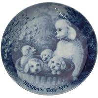 Berlino design festa della mamma piastra 1971grigio Poodles piastra CP2051 - Mothers Day Piastra