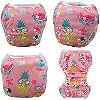 Alvababy Swim Diaper for Babies (Digital Positioned Prints) (Sea)
