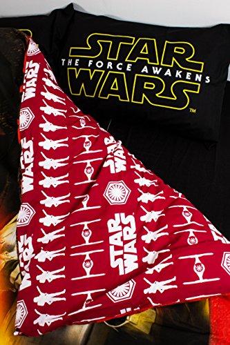 Copripiumino Matrimoniale Star Wars.Star Wars Set Di Biancheria Per Letto Matrimoniale Motivo Star Wars