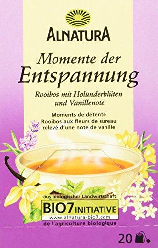 Alnatura Bio Momente der Entspannung Tee, 20 Beutel, 40 g