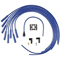 ACCEL 4040B SuperStock 8mm 4000 Series Blue Graphite Spark Plug Wire Set by (4000 Car Series)