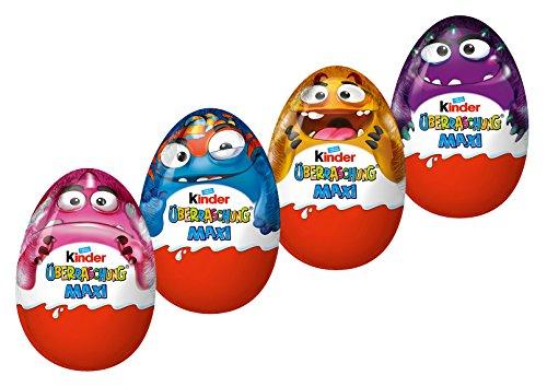 Preisvergleich Produktbild Kinder Überraschung Maxi Halloween,  4er Pack (4 x 100g)