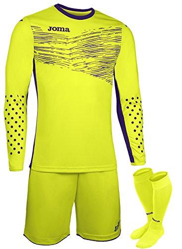 joma-set-goalkeeper-zamora-ii-l-s-uniforms-formation-gardien-amarillo-fluor-m