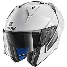 HE9700EWHU : Casco moto SHARK EVO-ONE 2 BLANK BLANCO talla L