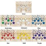 amscan Hängende Partydekoration, Wirbel mit Sternen, goldfarben - 2